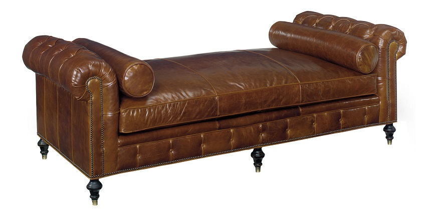 Baton Rouge Leather Daybed