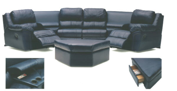 Daley Leather Theatre Seating