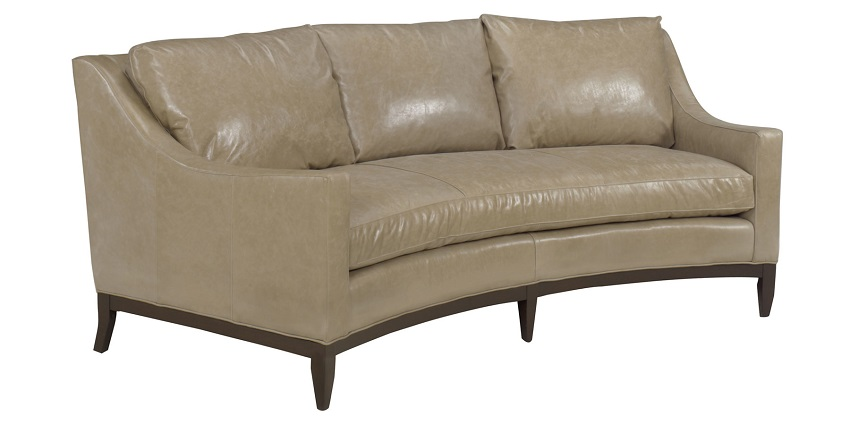 Pearson Leather Conversation Sofa