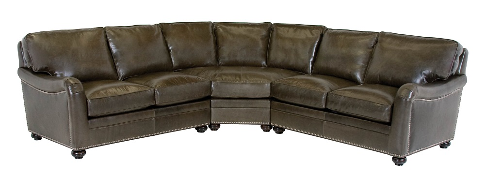 Heron Leather Sectional