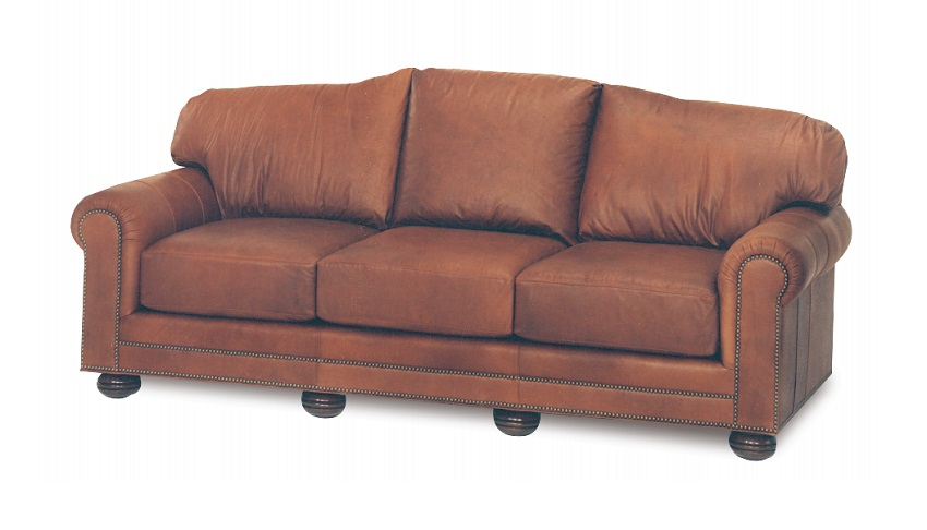 Hadlock Leather Loveseat