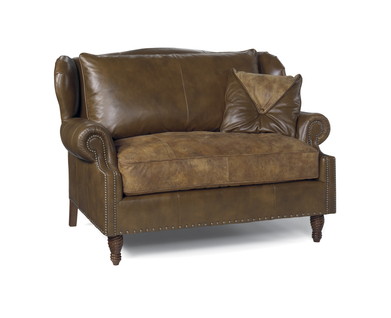 Benjamin Leather Chair and Half