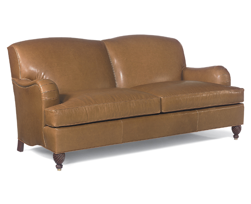 Armstrong Leather Three Cushion 88