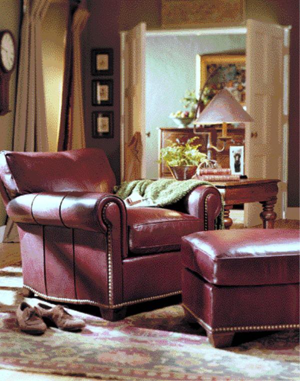 Fabulous Robinson Tilt Back Leather Chair Ottoman Cjindustries Chair Design For Home Cjindustriesco