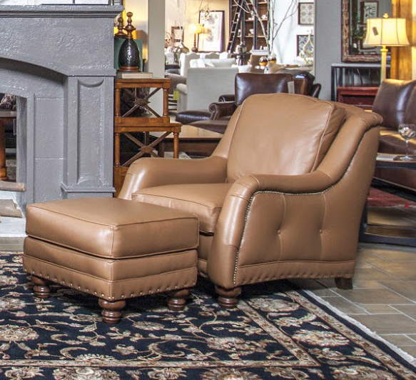 881 Leather Chair - Thurston