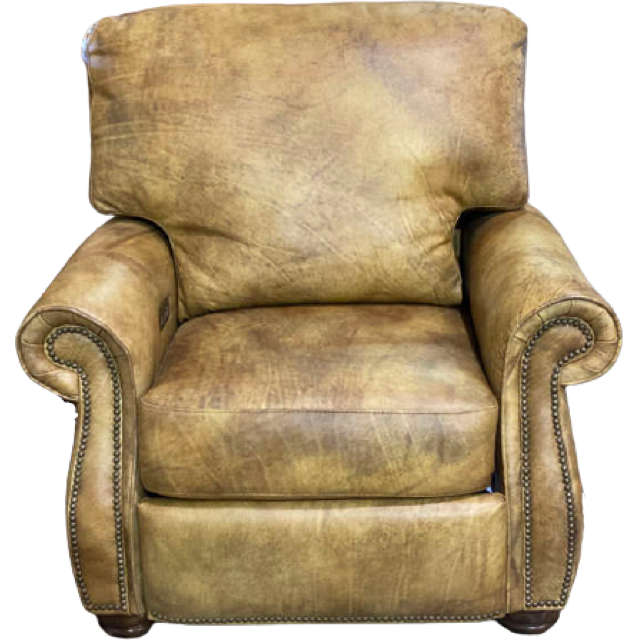Clearance Leather Recliner - Harbor