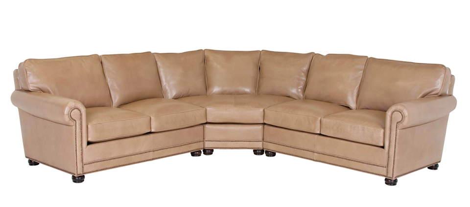 Samson Leather Sectional