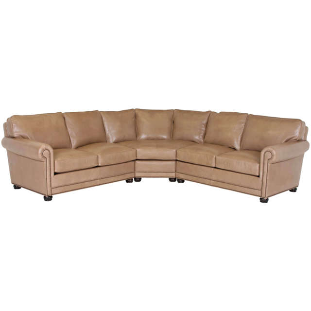 Samson Leather Sectional