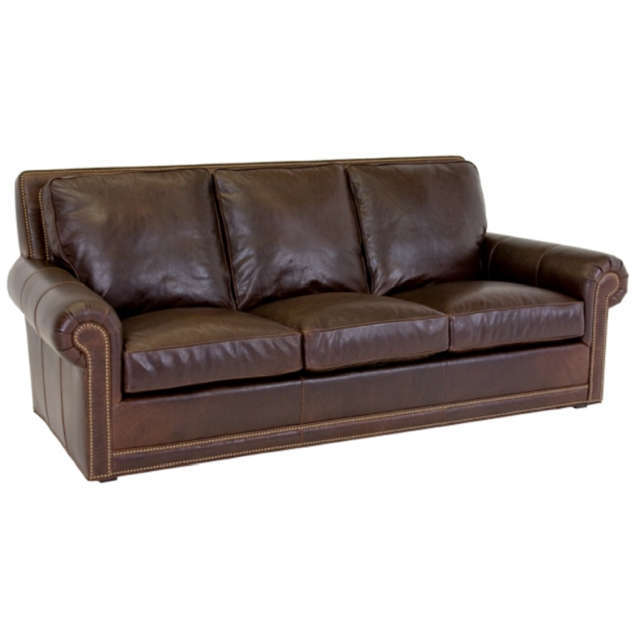 Claremont Leather Sofa