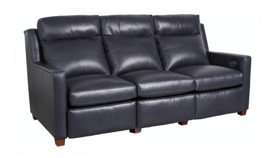 Benny Leather Power Inclining Sofa
