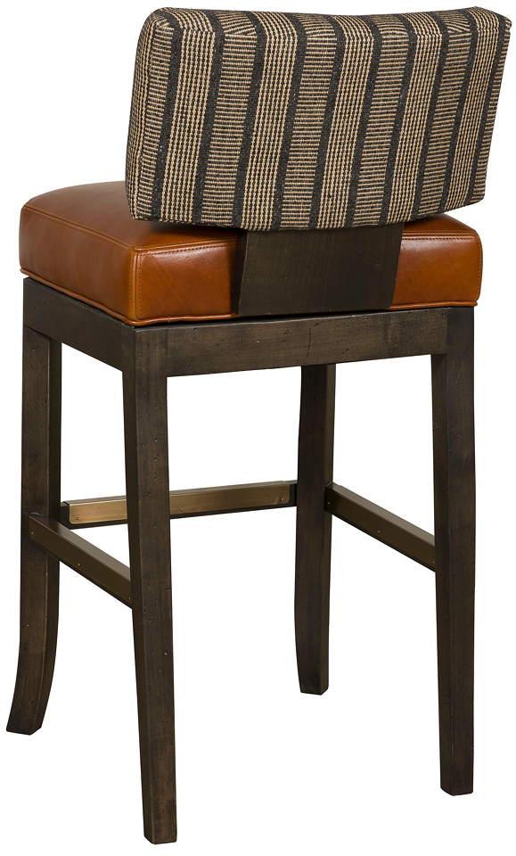 Lang Leather Bar Stool