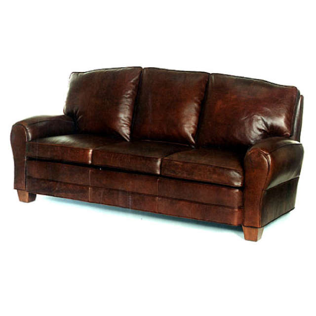 Arizona  Leather Loveseat