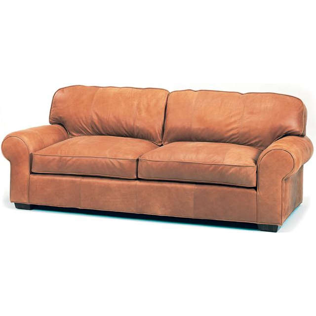 Helen Leather Loveseat