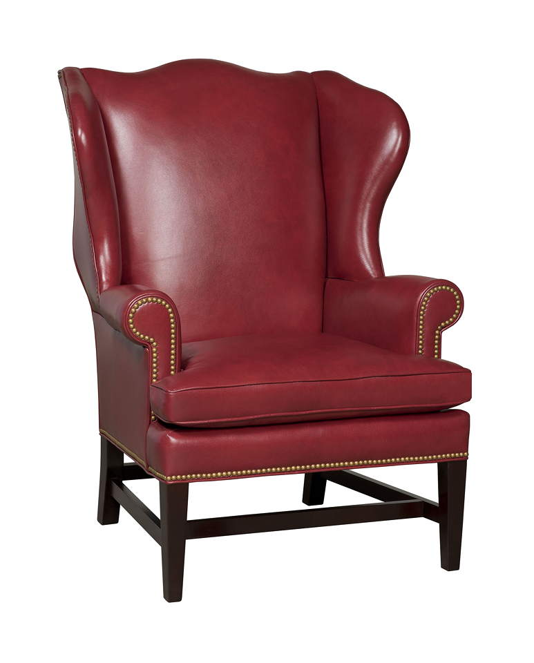 Berwind Leather Accent Chair