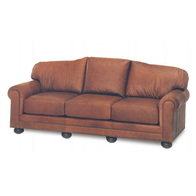 Hadlock Leather Sofa
