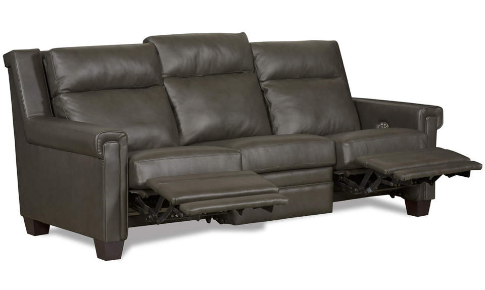 Whitley Leather Power Reclining Sofa