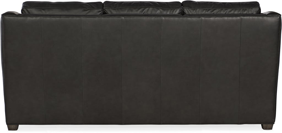 Raymond Leather Reclining Sofa With Articulating Headrest