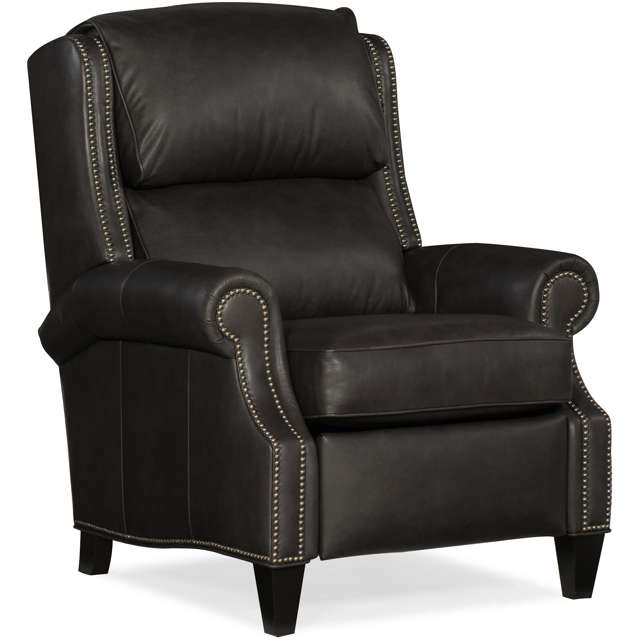 Huss Leather Power Recliner