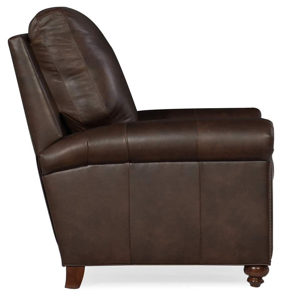 Where To Buy American Heritage Leather Furniture: Raylen Leather Recliner By Bradington Young Furniture