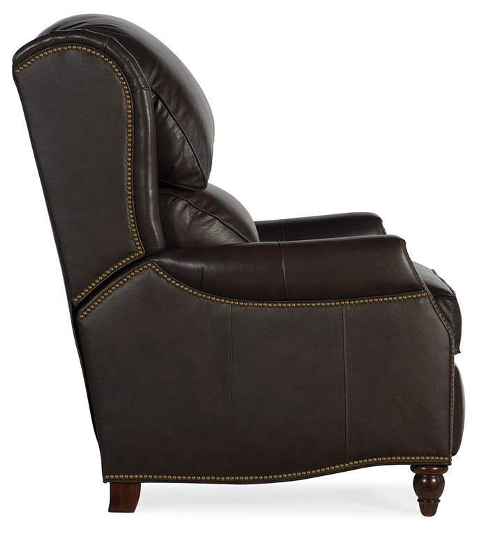 Where To Buy American Heritage Leather Furniture: Coleson Leather Recliner By Bradington Young Furniture