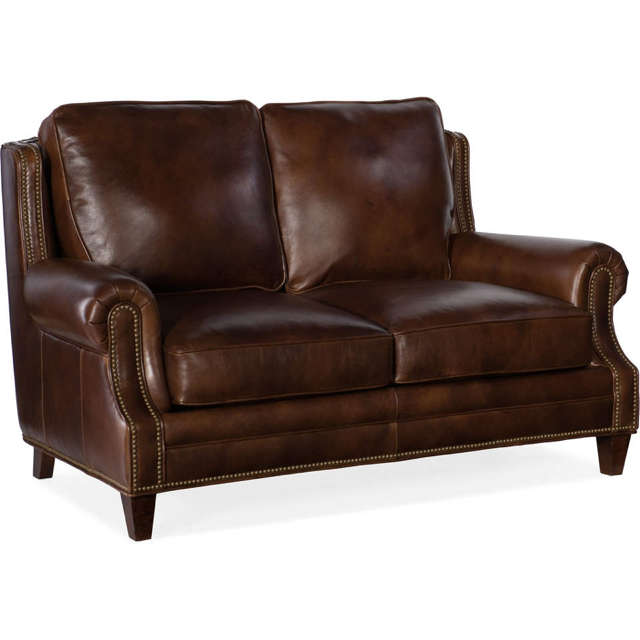 Houck Leather Loveseat