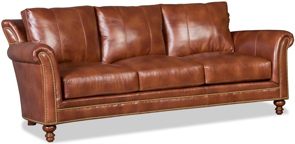 Swell Richardson Leather Sofa By Bradington Young Andrewgaddart Wooden Chair Designs For Living Room Andrewgaddartcom