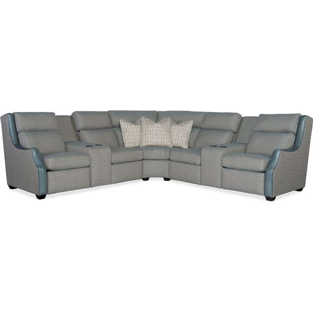 964 Reclining Leather Sectional
