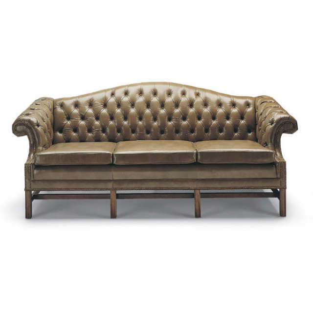 High Quality Leather Sofa On Now, Tufted Back Sofa