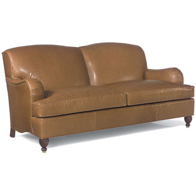 Armstrong Leather Two Cushion 76