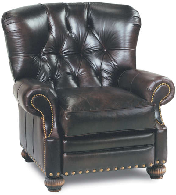 Keen Leather Tuft Recliner