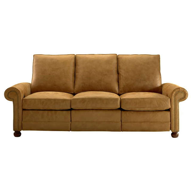 Mia Leather Power Reclining Sofa