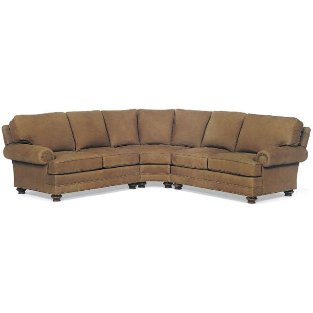 Bon Aire Leather Sectional