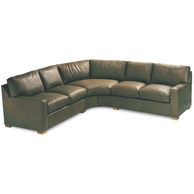 Bayview Leather Sectional