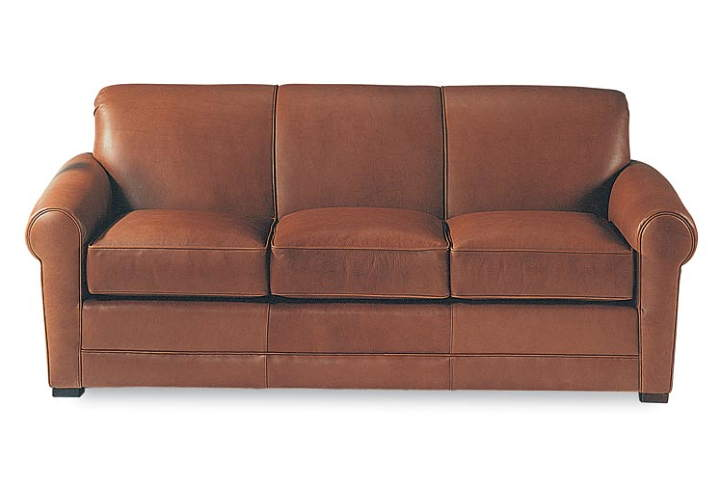 Carson Leather Loveseat