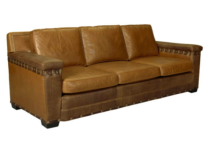 Dewey Leather Sofa