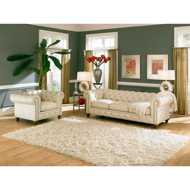 Remington Leather Sofa
