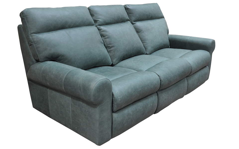 Brookhurst Leather Power Reclining Sofa With Articulating Headrest