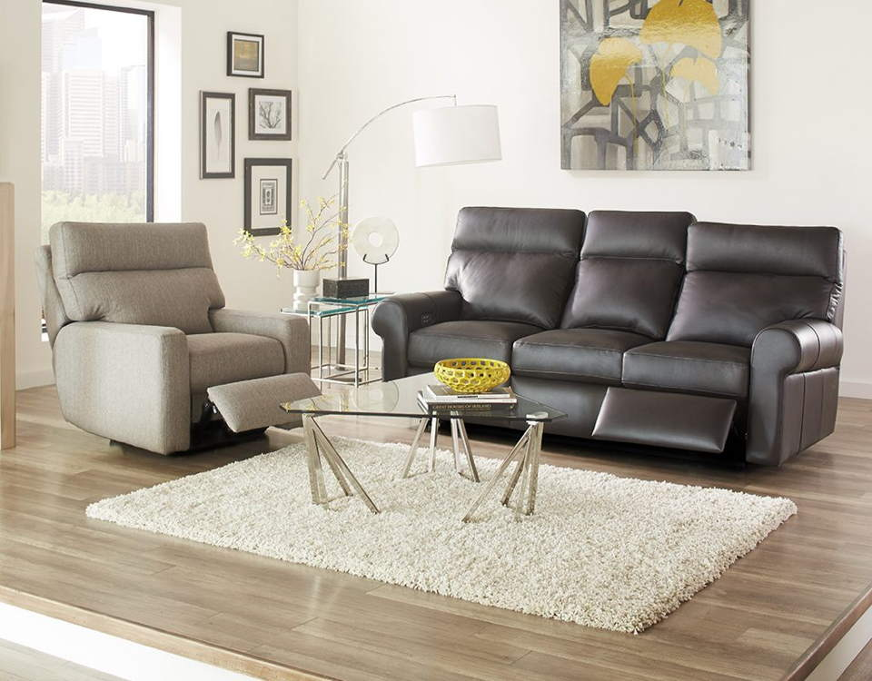 Brooklyn Leather Full Size Sofa Sleeper