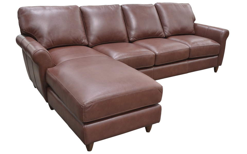 Cameo Leather Sofa With Chaise