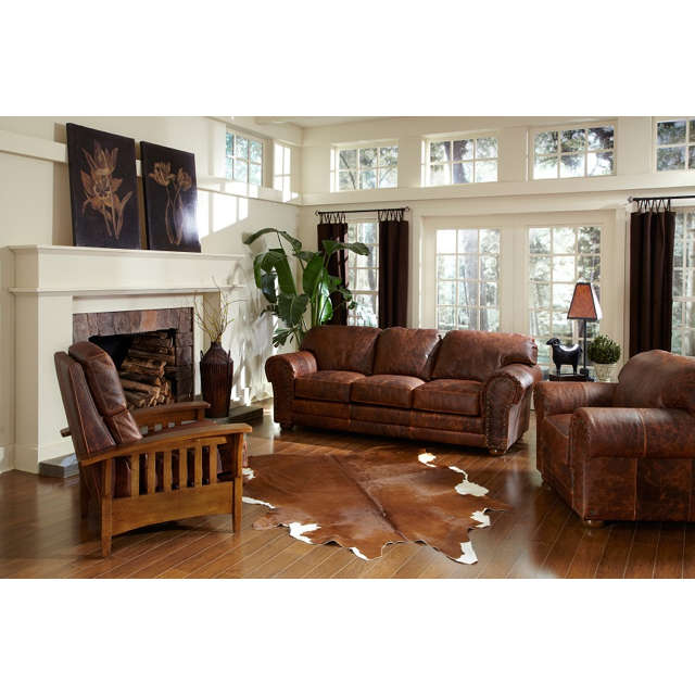 Cheyenne Leather Queen Size Sofa Sleeper