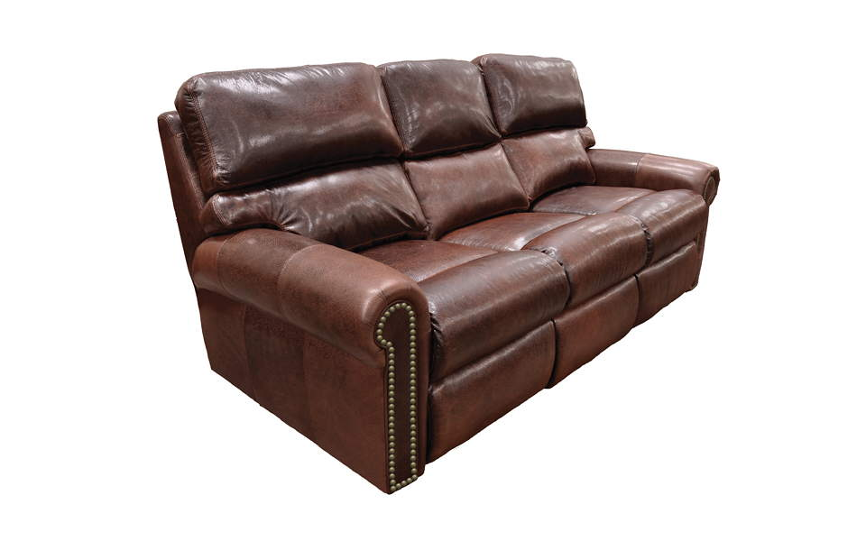 Connor Leather Full Size Sofa Sleeper