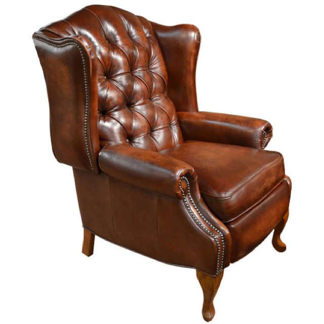 Elizabeth Leather Chair