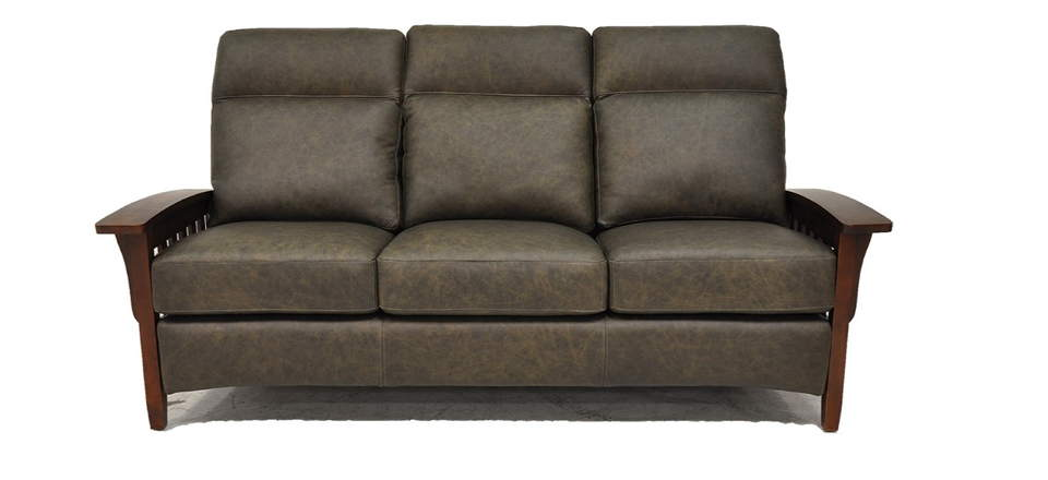 Magnificent Mission Leather Loveseat Caraccident5 Cool Chair Designs And Ideas Caraccident5Info