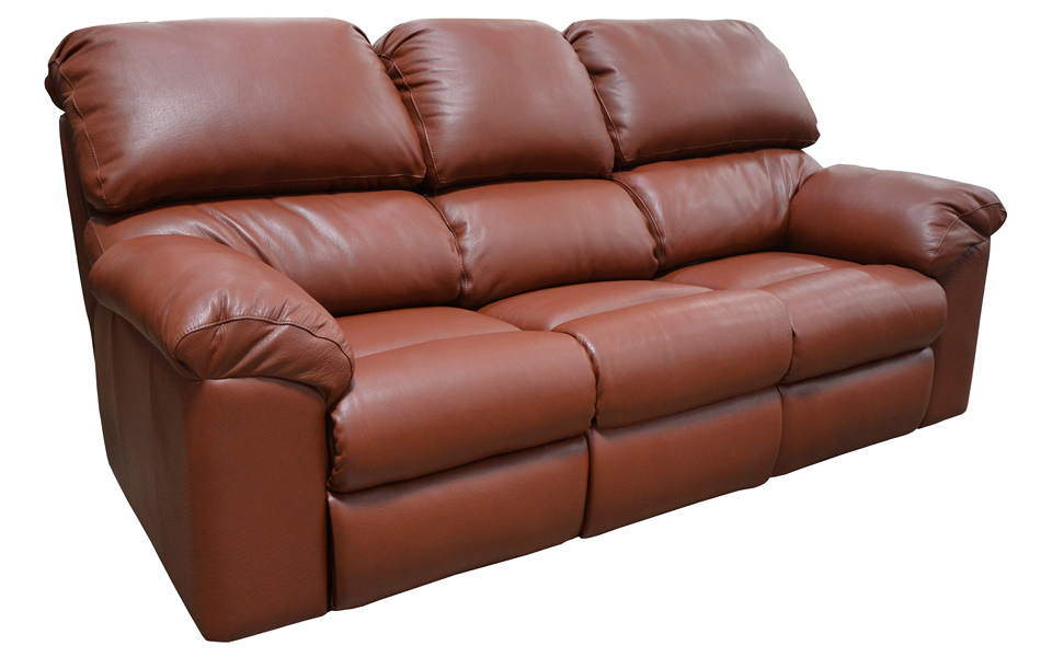 Opal Leather Reclining Sofa
