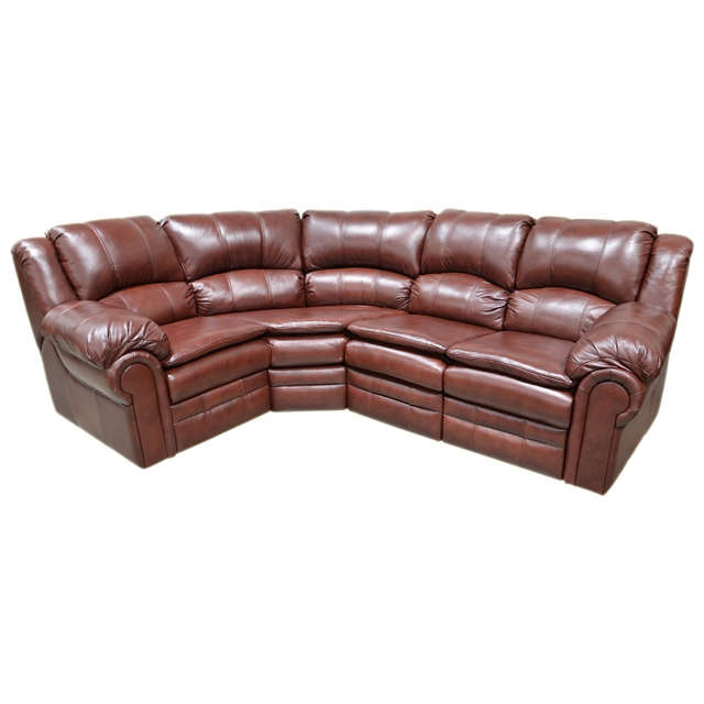 Riviera Leather Sectional