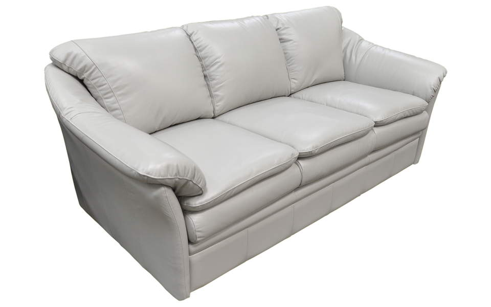 Uptown Leather Full Size Sofa Sleeper