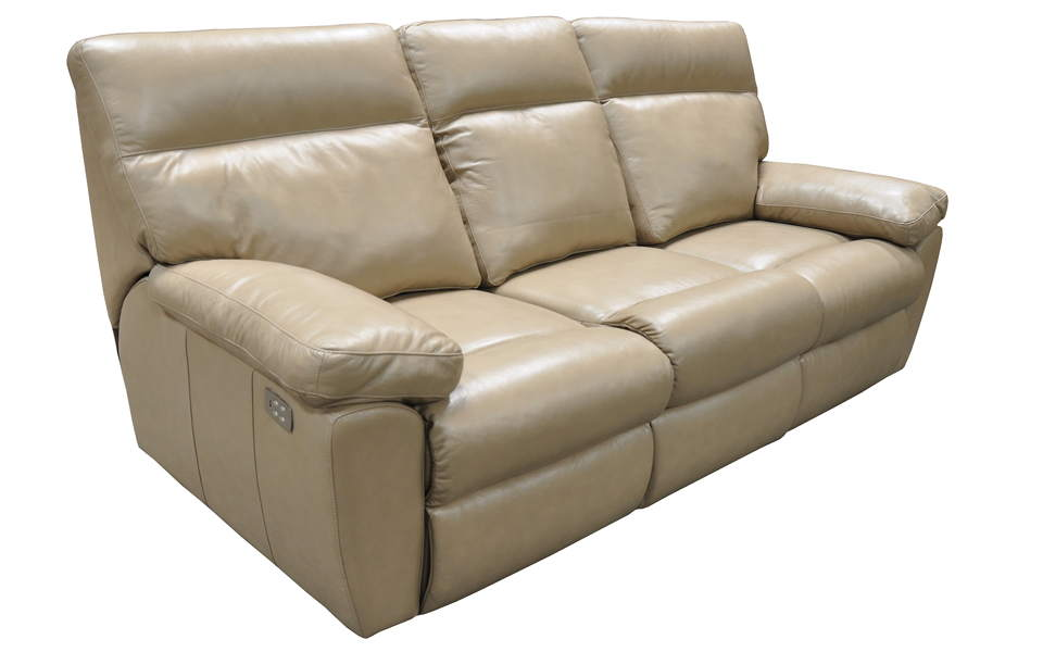 Vancouver Leather Power Reclining Sofa With Articulating Headrest
