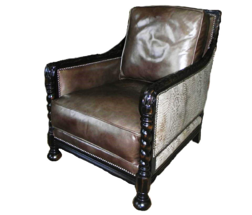 Leyburn Leather Chair