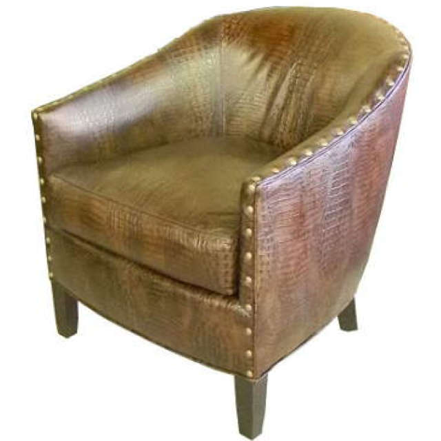 City Leather Accent Chair