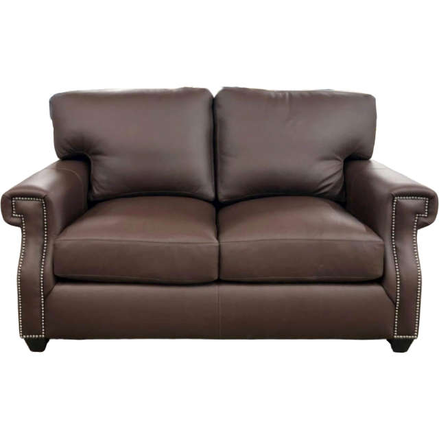 Empire Leather Loveseat